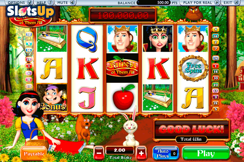 Play Fairest of Them All Online Slots at Casino.com New Zealand