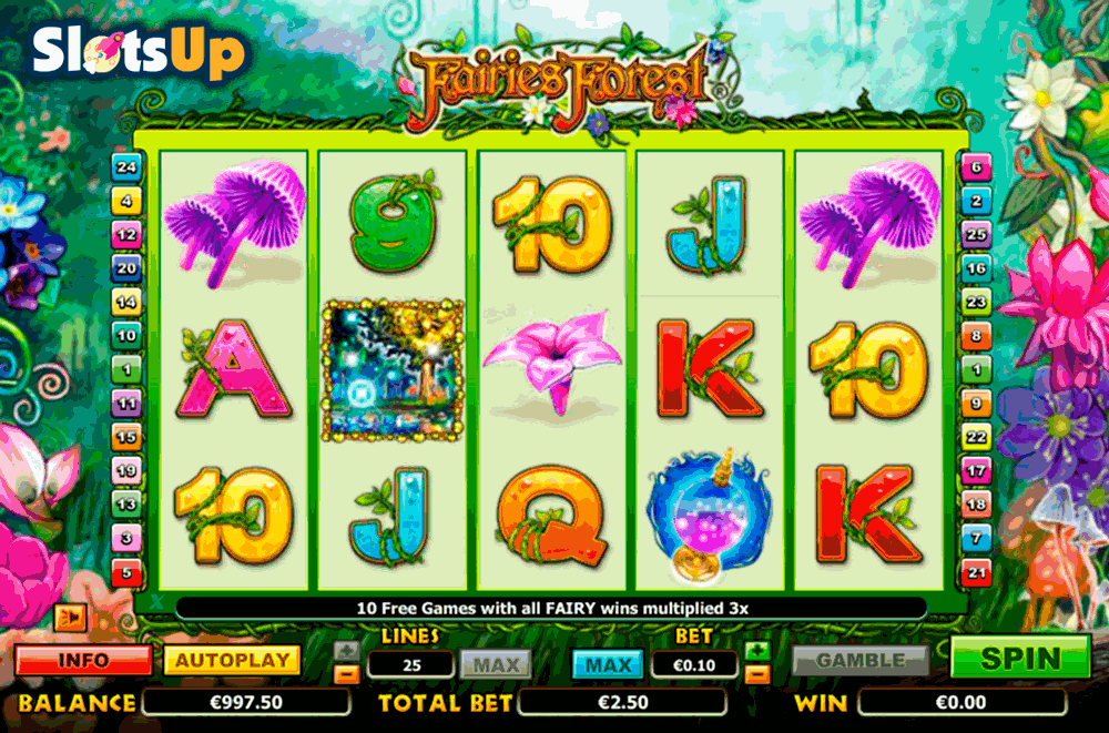 Magic Forest Slot Machine Online ᐈ Playson™ Casino Slots