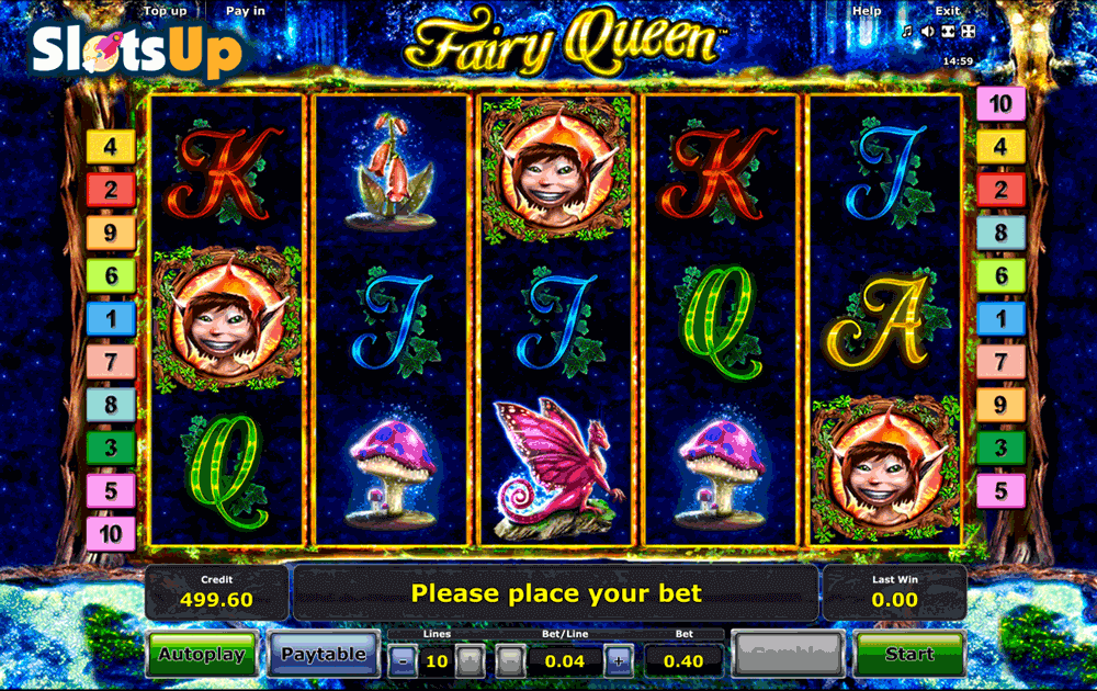Fairy Queen Slot Machine Review & Free Online Demo Game