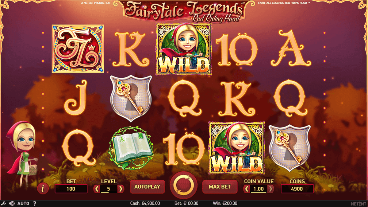 Fairytale Legends: Red Riding Hood Slot Machine Online ᐈ NetEnt™ Casino Slots