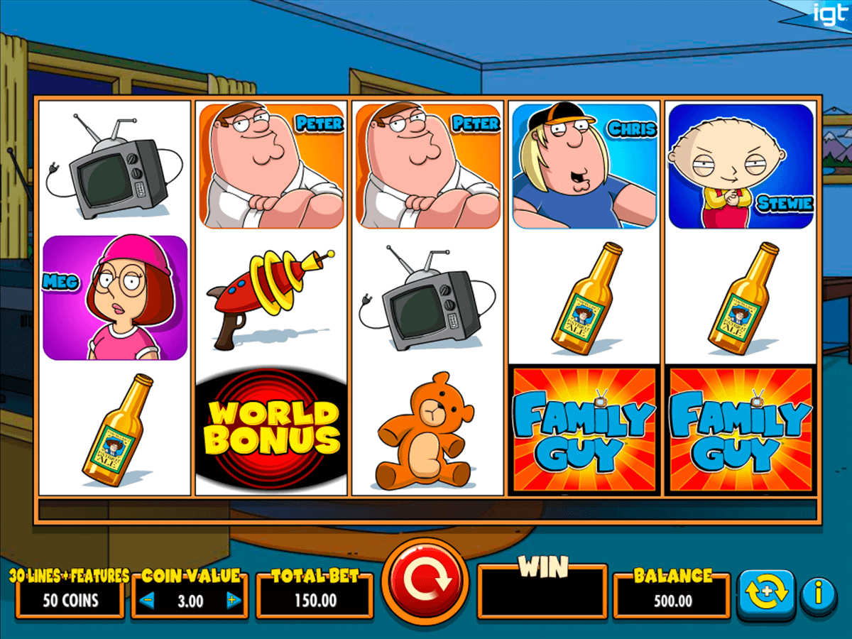 Family Guy Slots - Free Slot Machine Game - Play Now