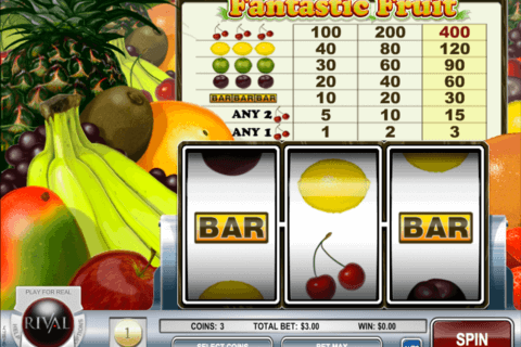 FANTASTIC FRUIT RIVAL CASINO SLOTS