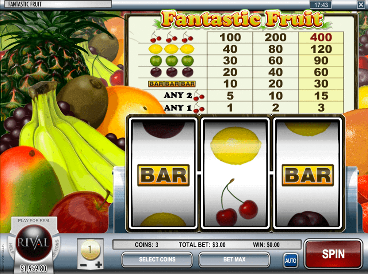 free online slots machine spiele fruits