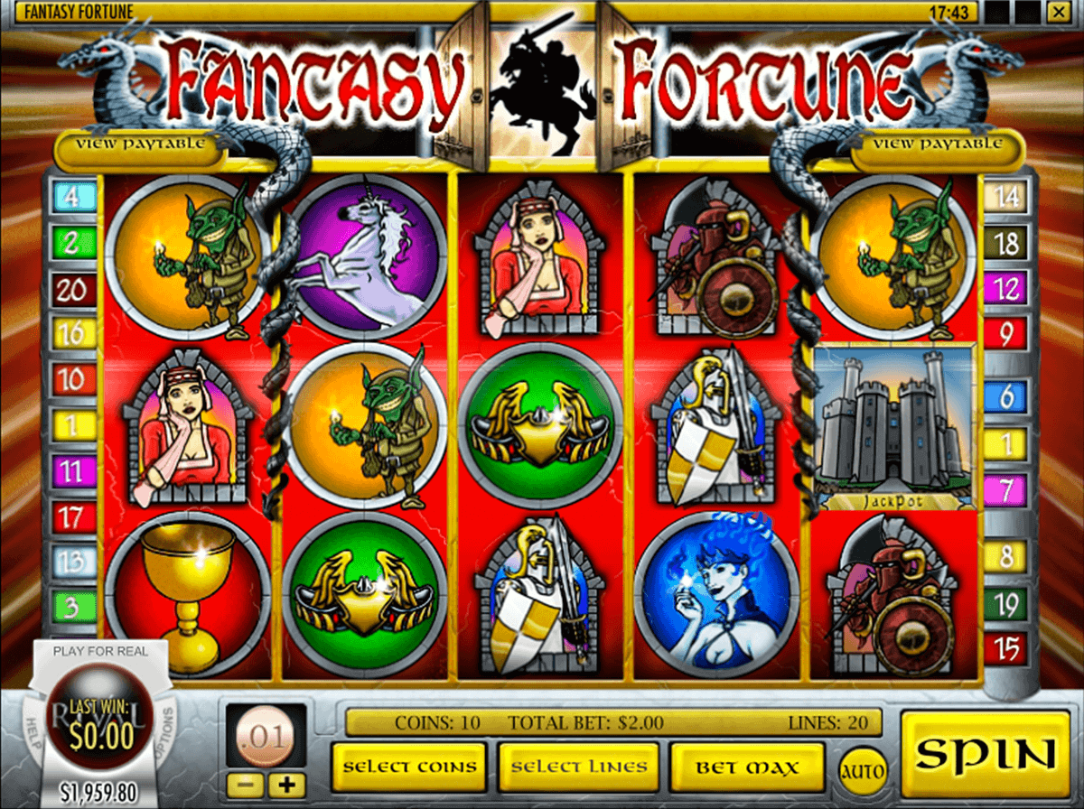 Fantasy Realm Slot Machine - Play for Real or Play for Free