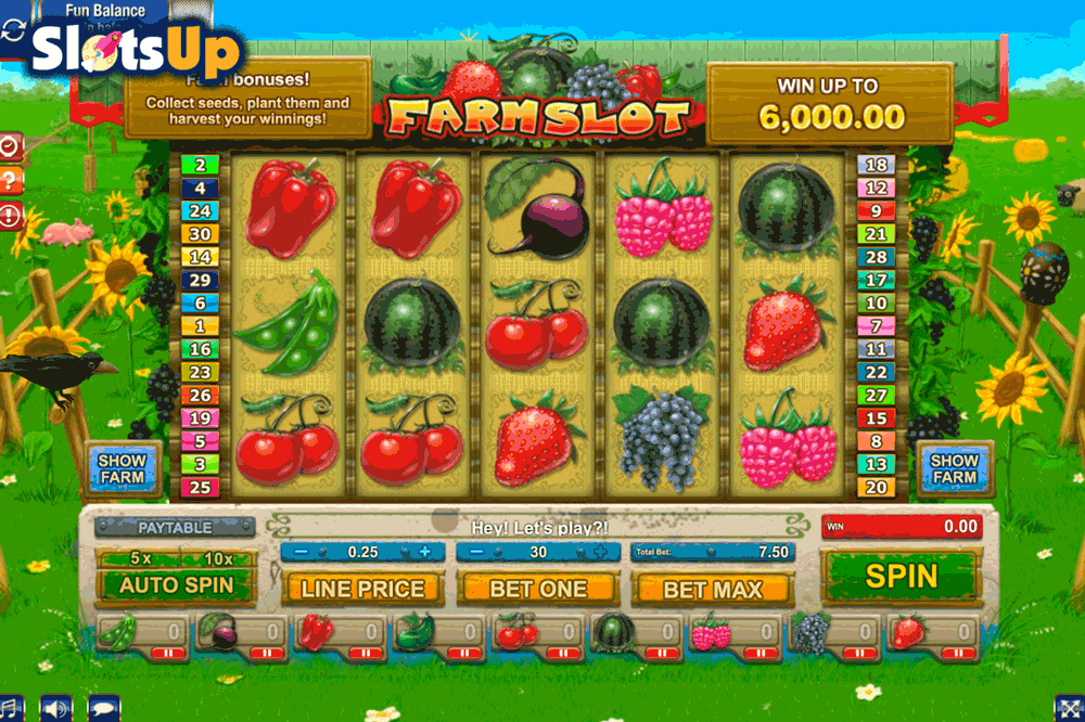 Funky Fruits Farm Slot Machine Online ᐈ Playtech™ Casino Slots