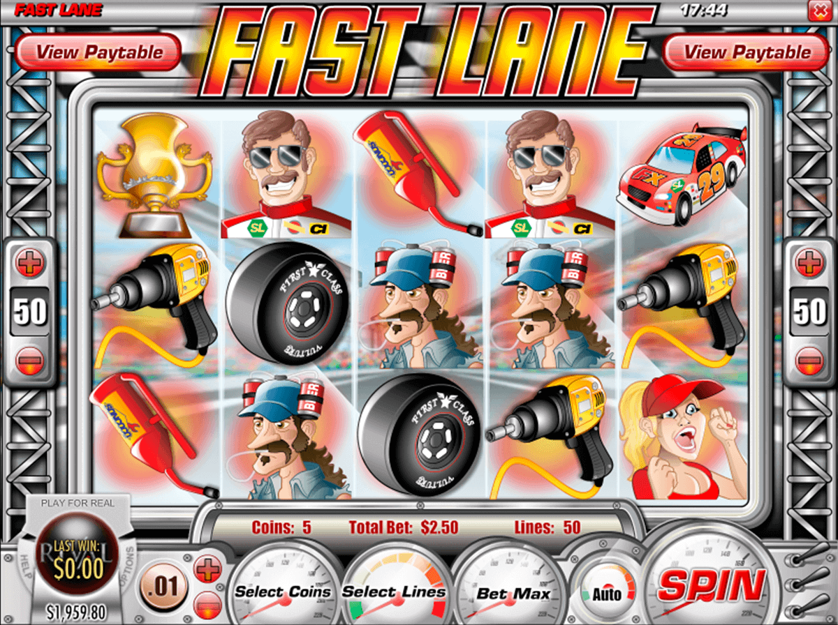 Fast Lane™ Slot Machine Game to Play Free in Rivals Online Casinos