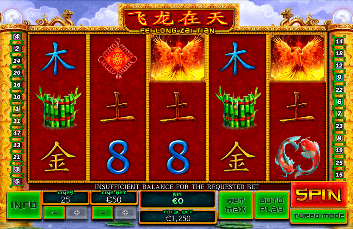 Play Fei Long Zai Tian Slots at Casino.com Canada
