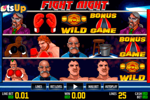 fight night hd world match casino slots