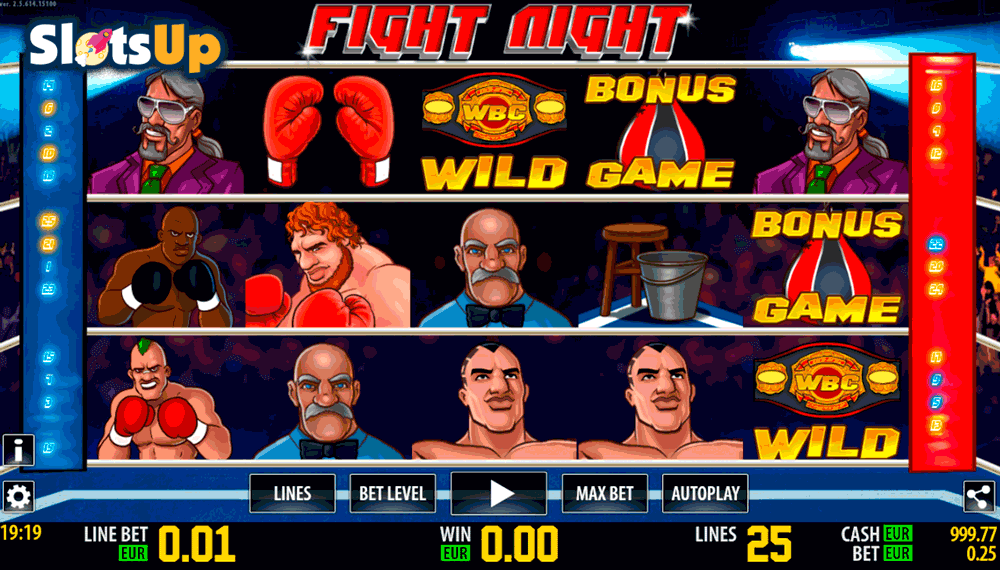 Fight Night™ Slot Machine Game to Play Free in WorldMatchs Online Casinos