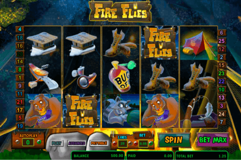 FIRE FLIES AMAYA CASINO SLOTS