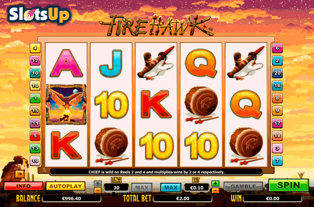 Fire Hawk™ Slot Machine Game to Play Free in PartyGamings Online Casinos