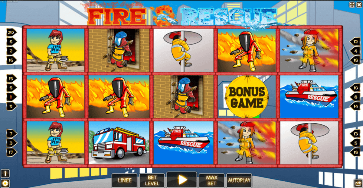 fire rescue hd world match casino slots