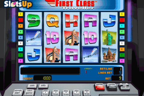 first class traveller novomatic casino slots