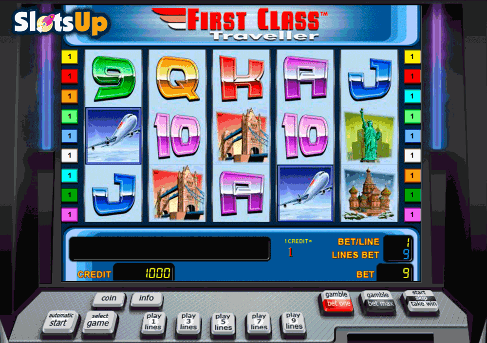 First Class Traveller™ Slot Machine Game to Play Free in Novomatics Online Casinos