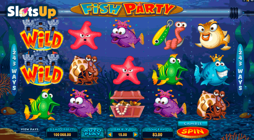 fish party microgaming casino slots