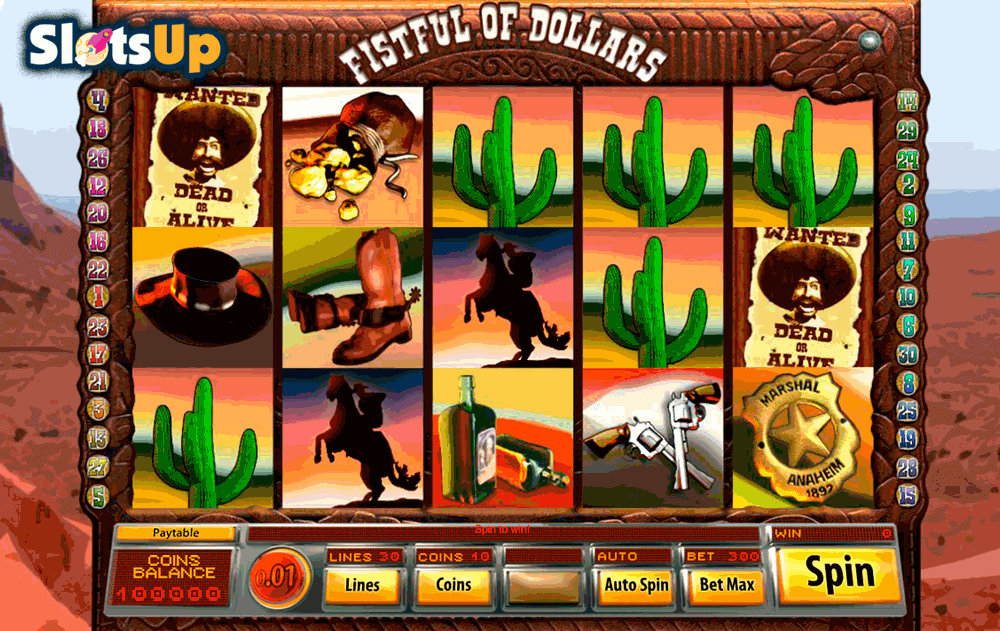 fistful of dollars saucify casino slots