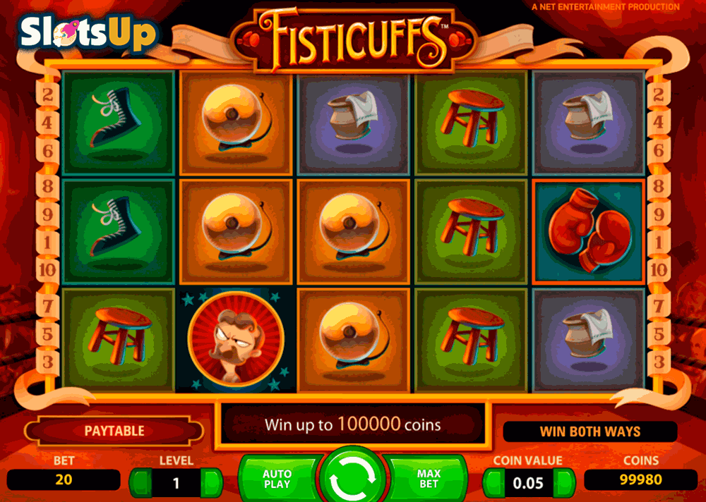 Fisticuffs - 100% gratis online video slot