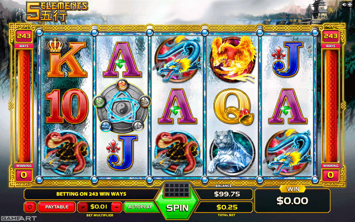Elementals™ Slot Machine Game to Play Free in Microgamings Online Casinos