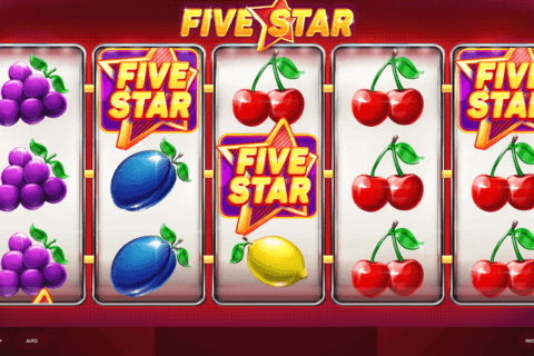 FIVE STAR RED TIGER CASINO SLOTS