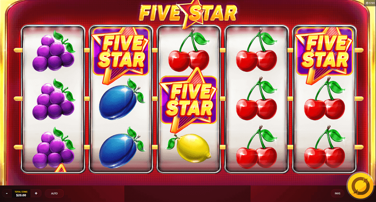 Five Star Luxury Slot Machine Online ᐈ GameArt™ Casino Slots