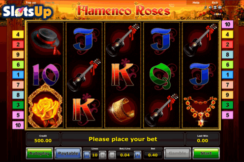 FLAMENCO ROSES NOVOMATIC CASINO SLOTS
