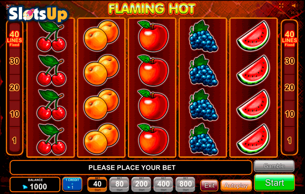 Extremely Hot Slot Machine - Play this Game for Free Online