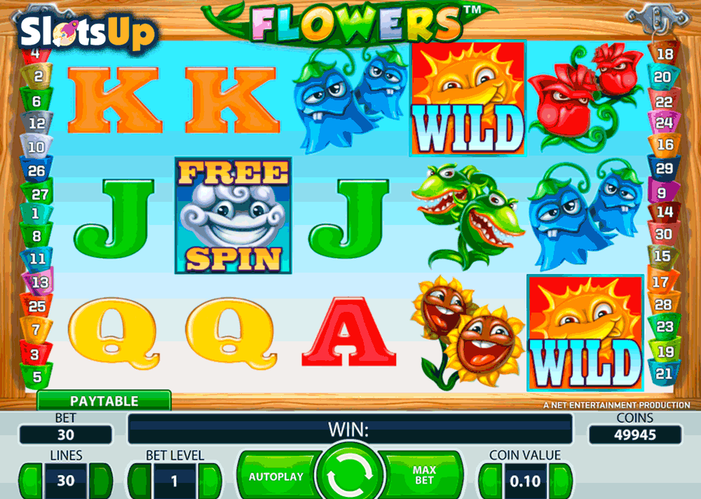 Flower Slot - Play Online & Win Real Money