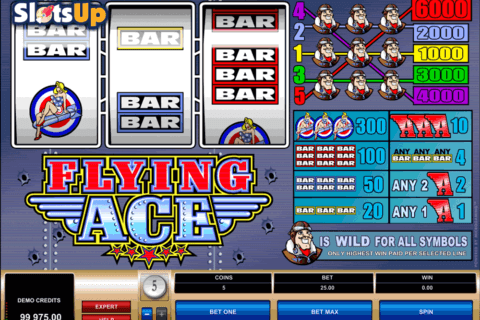 FLYING ACE MICROGAMING CASINO SLOTS