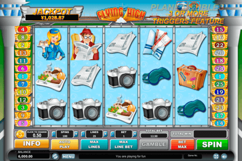 flying high habanero slot machine