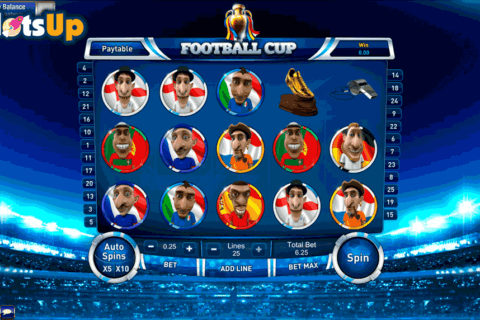 FOOTBALL CUP SLOT GAMESOS CASINO SLOTS