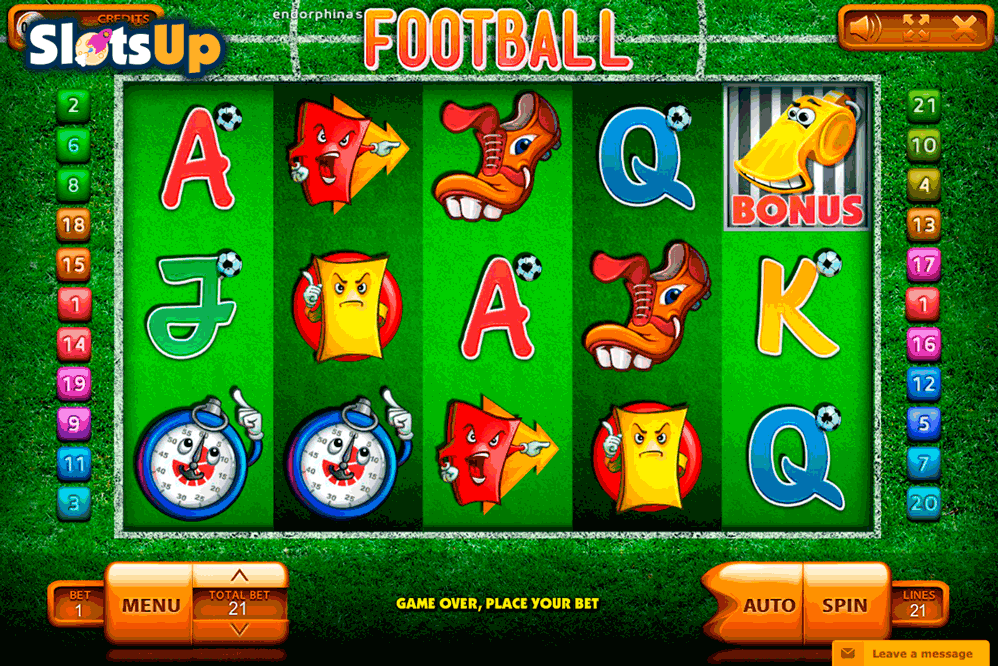 football endorphina casino slots