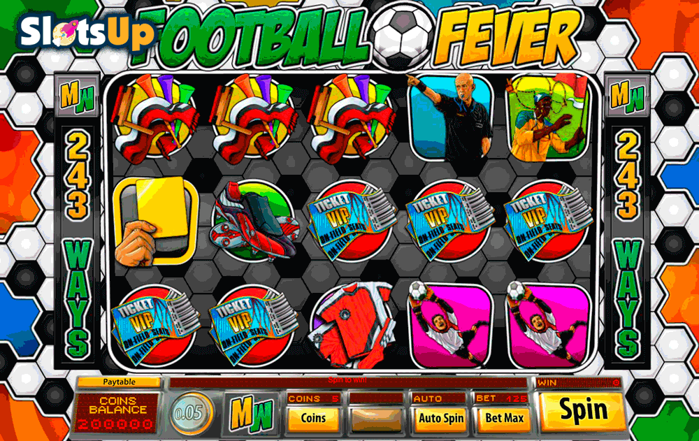 FOOTBALL FEVER SAUCIFY CASINO SLOTS
