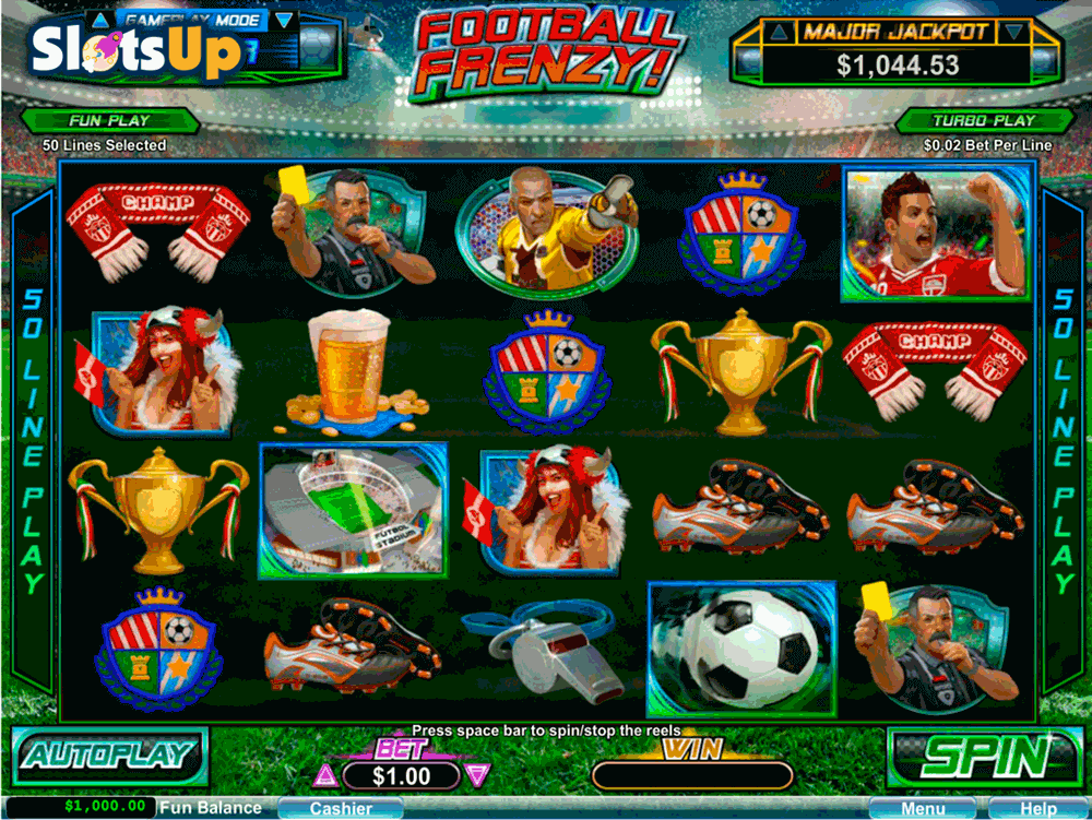 Football Frenzy Casino Game - Play Now with No Downloads