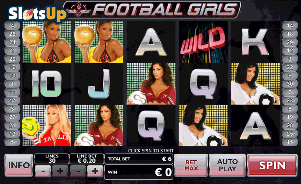 football girls playtech casino slots