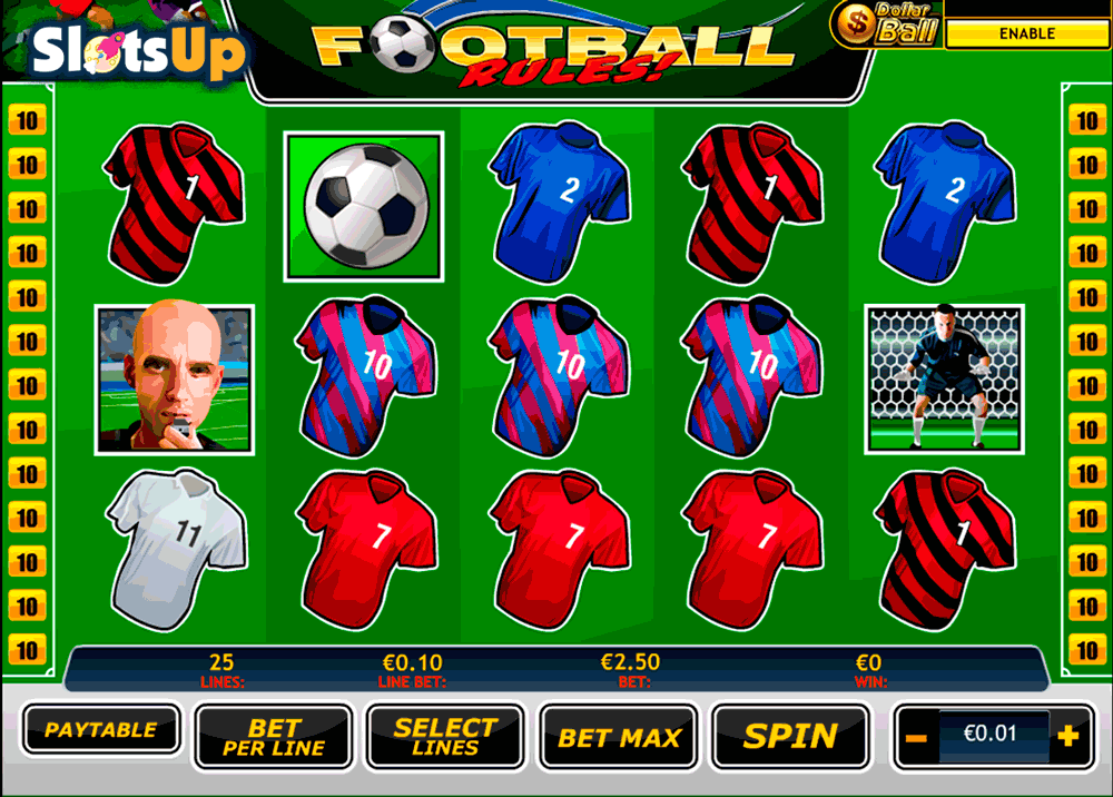 football rules playtech casino slots