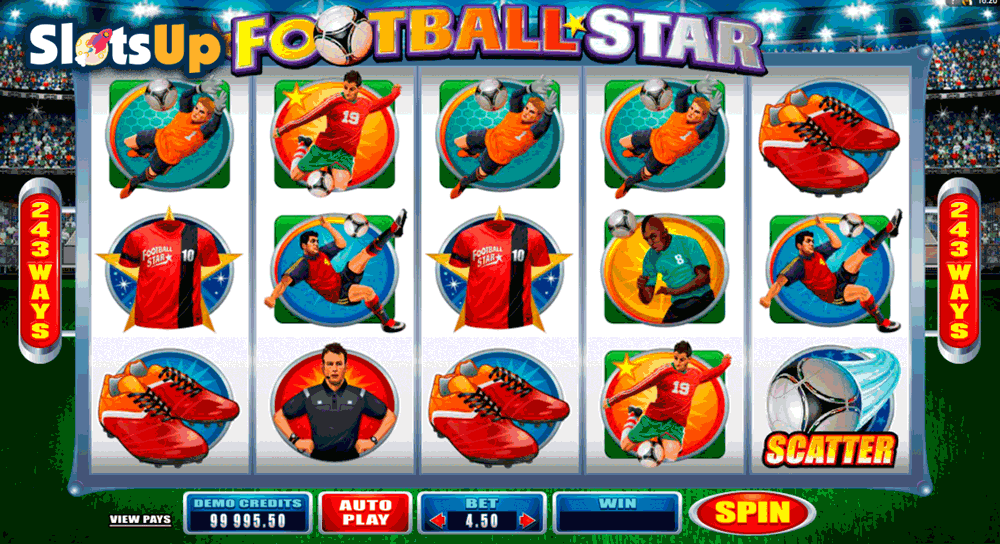 FOOTBALL STAR MICROGAMING CASINO SLOTS