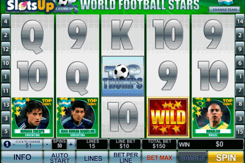 football stars playtech casino slots