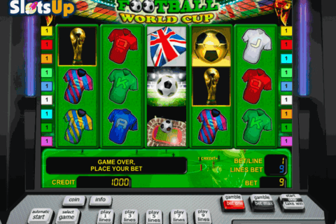 football world cup novomatic casino slots
