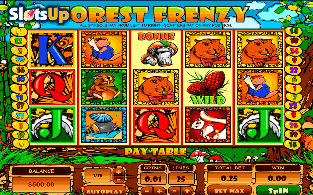 FOREST FRENZY TOPGAME CASINO SLOTS