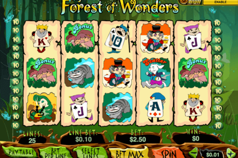 FOREST OF WONDER PLAYTECH CASINO SLOTS