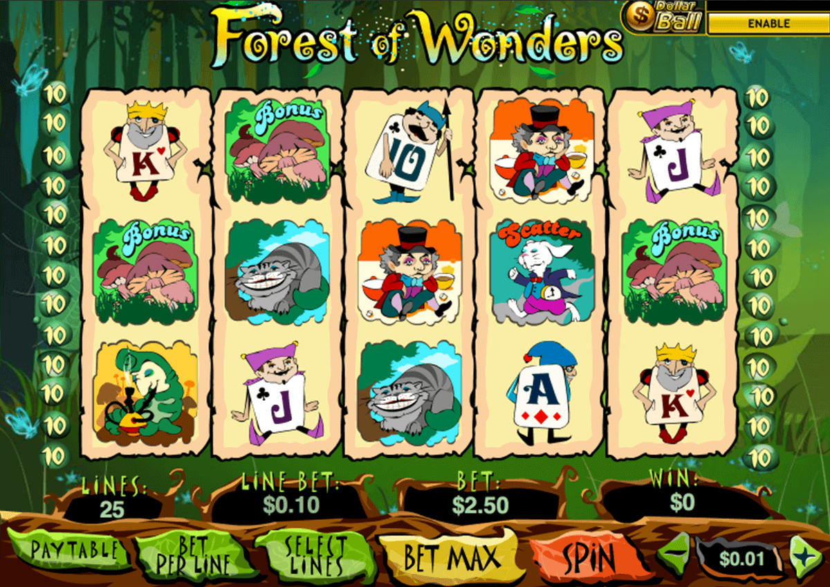 Wonder Tree Slot Machine - Review and Free Online Game