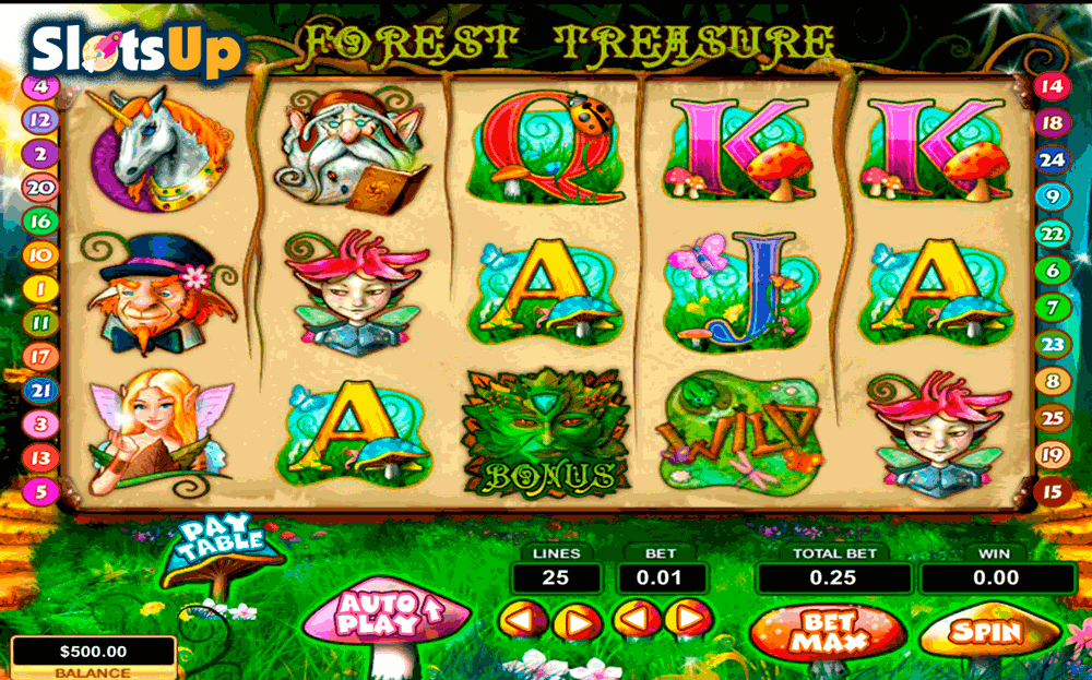 Forest Treasure Slot Machine - Play Free Casino Slot Games