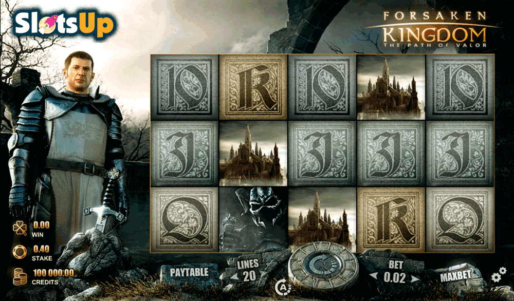 Forsaken Kingdom Slot Machine – Try the Free Demo Online
