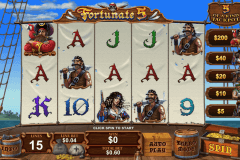 FORTUNATE FIVE PLAYTECH CASINO SLOTS