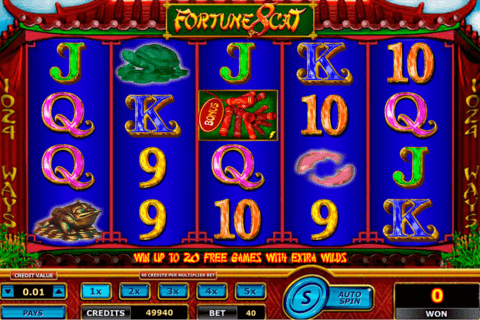 FORTUNE 8 CAT AMAYA CASINO SLOTS
