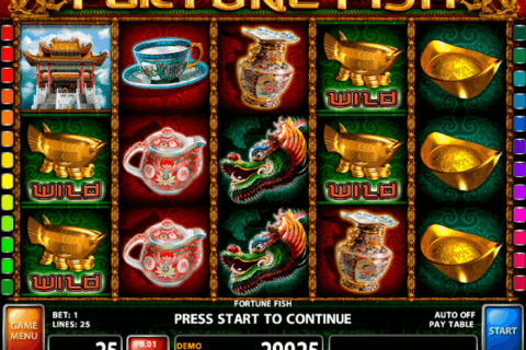 FORTUNE FISH CASINO TECHNOLOGY SLOT MACHINE