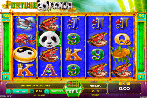 fortune panda gameart slot machine 480x320