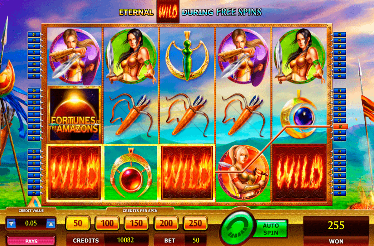 Fortunes of the Amazons Slot Review & Free Game