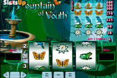 fountain of youth playtech casino slots
