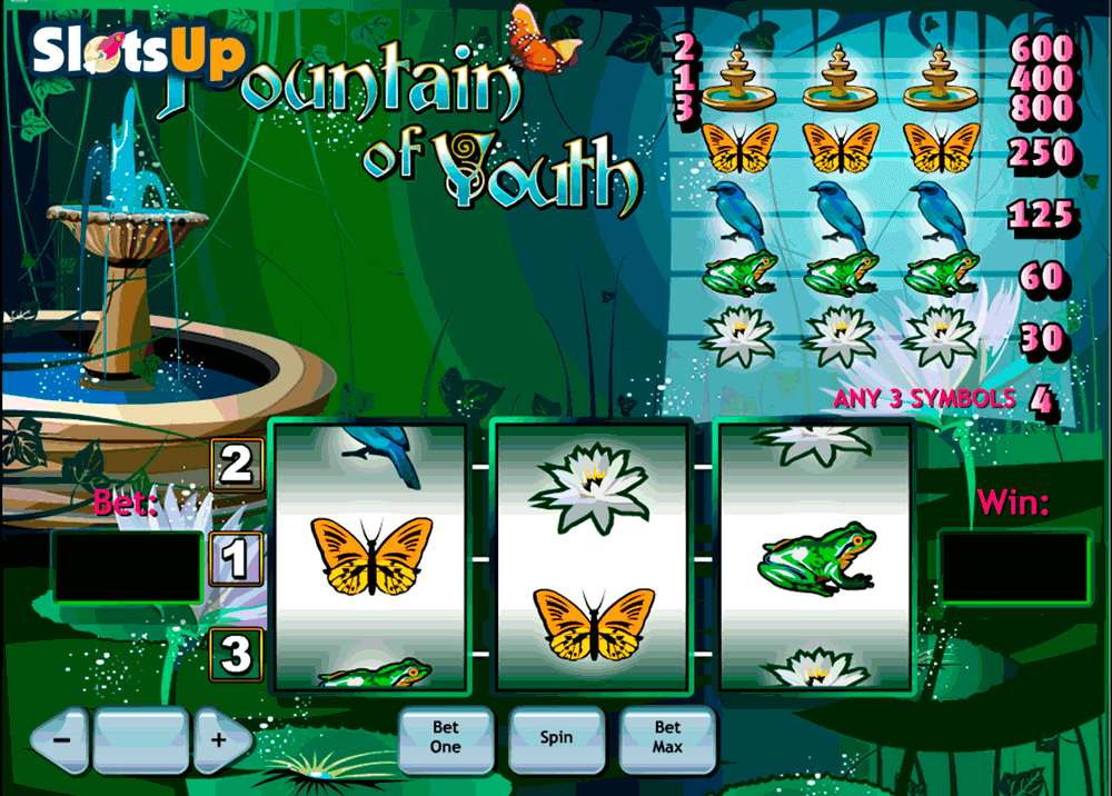 Fountain Of Youth™ Slot Machine Game to Play Free in Playtechs Online Casinos
